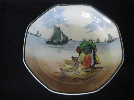 Fisherfolk Bowl   SOLD